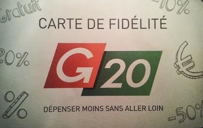 Carte g20 carte de fid lit magasin g20 carte de fid lit - Carte fidelite gaumont ...
