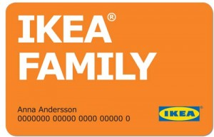 ikea family carte de fid lit. Black Bedroom Furniture Sets. Home Design Ideas