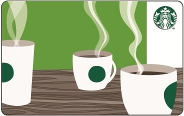 Carte Starbucks
