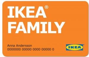 Carte Ikea Family